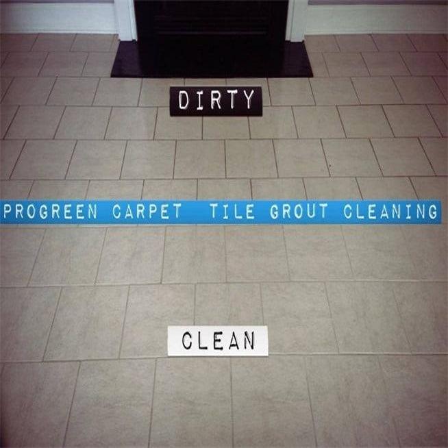 how to get spongy floor tiles clean