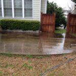 Pressure Washing Concrete 1