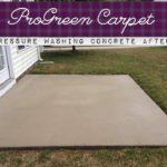 Pressure Washing Concrete 11