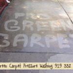 Pressure Washing Concrete 12