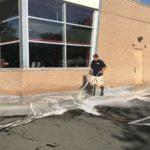 Pressure Washing Concrete 3
