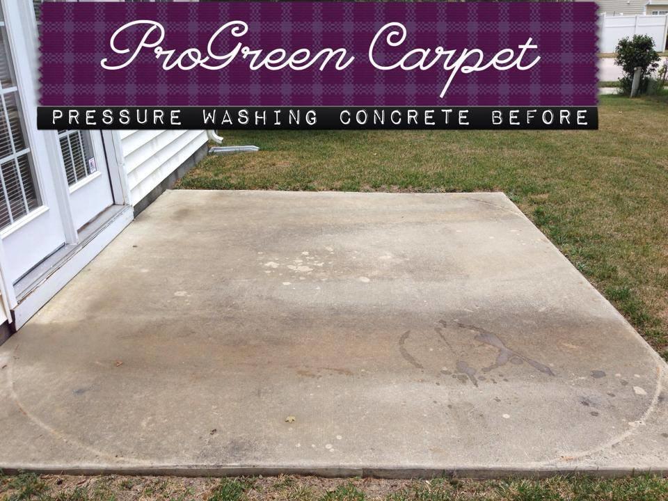 Pressure Washing Concrete 10