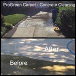 Pressure Washing Concrete 17