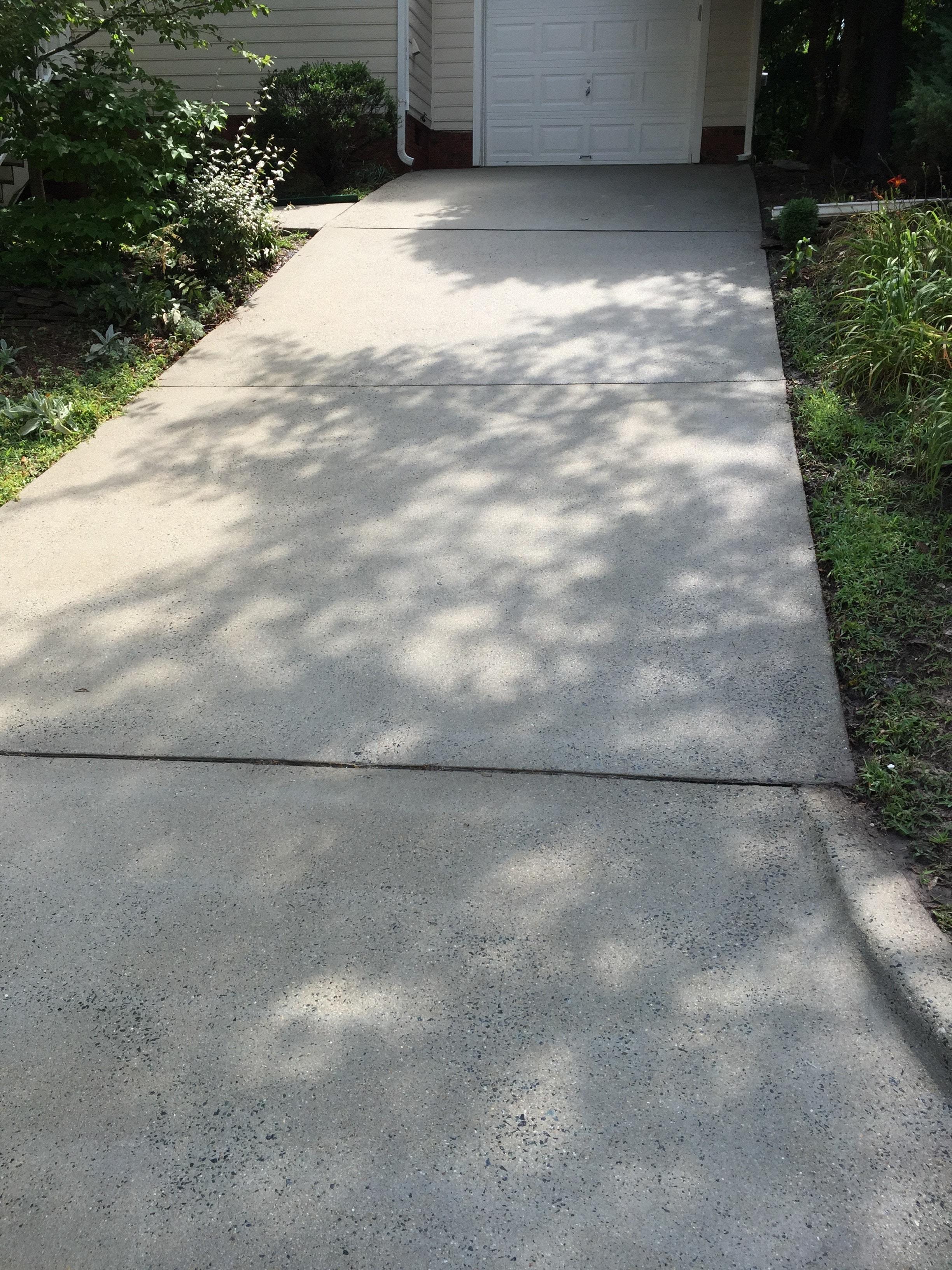 Pressure Washing Concrete 14
