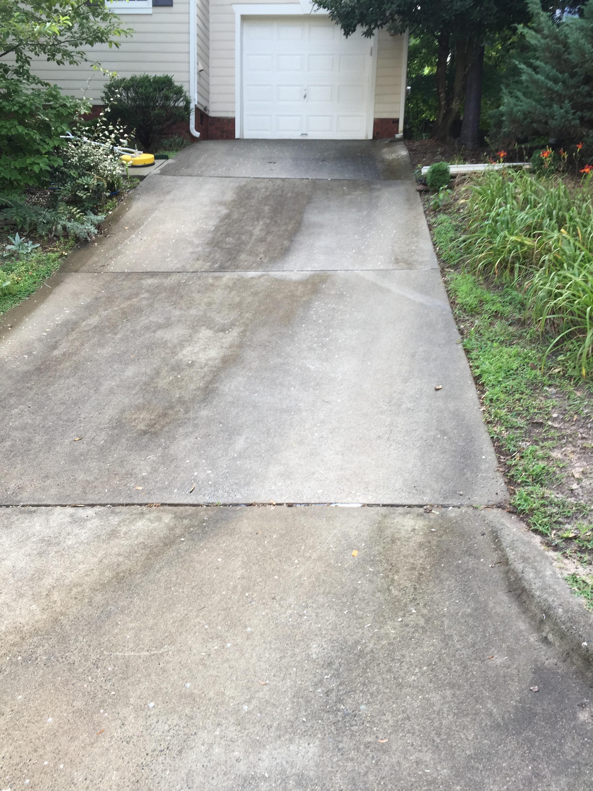 Pressure Washing Concrete 15
