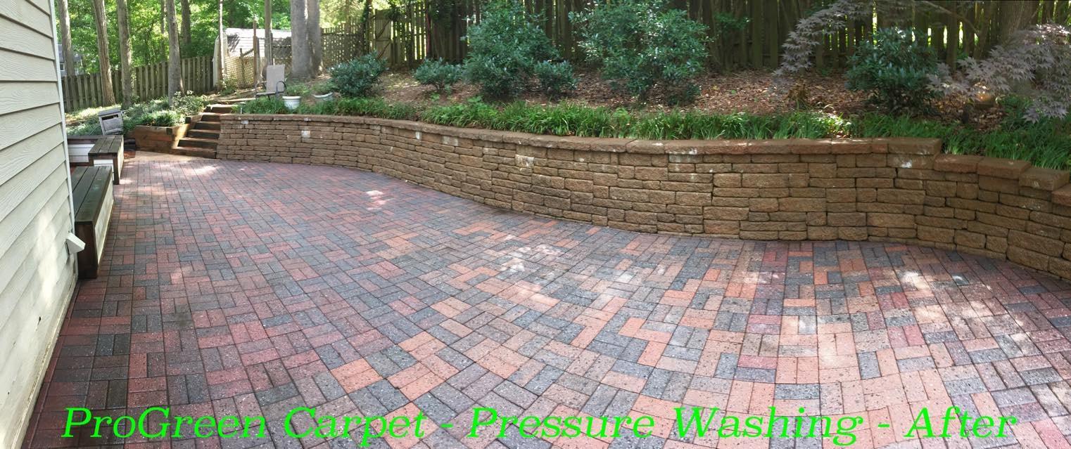 Pressure Washing Concrete 19