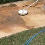 Pressure Washing Concrete 20