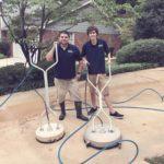 Pressure Washing Concrete 23